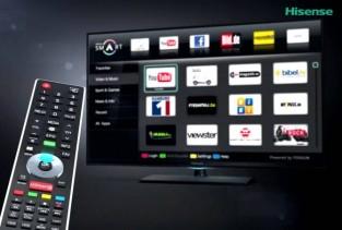 Hisense  SMART TVs starting at $275!