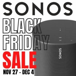 SONOS BLACK FRIDAY SALE: Nov 27 - Dec 4