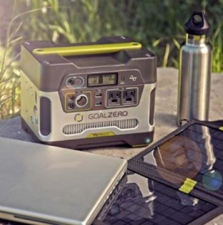 15% DISCOUNTS on GOAL ZERO Solar powered products.